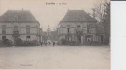 HAUTE MARNE -  EURVILLE - La Place ( - Petite Animation  - N'a Pa Circulé ) - Frankreich