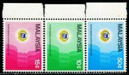 MY0752 Malaysia 1975 International Women's Year Silhouette 3V MNH - Malaysia (1964-...)