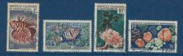 """Nle-Caledonie YT 291 à 294 """" Coraux Et Poissons """" 1959 Oblitéré - Neukaledonien"""