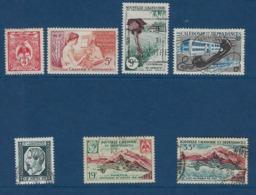 """Nle-Caledonie YT 295 à 301 """" 100 Ans Poste """" 1960 Oblitéré - Neukaledonien"""