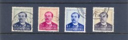 Nrs. 439/442 Used - Luxemburg