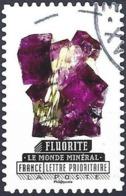 France 2016 - Mi 6351 - YT Ad 1221 ( Mineral : Fluorite ) - Adhésifs (autocollants)