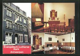AK Antwerpen, Evangelisch-Lutherse Kerk, Kirche - Antwerpen