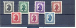 Nrs.360/366 ** Postgaaf LION - Luxemburg