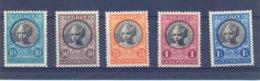 Nrs.192/196 ** Postgaaf Zeer Mooi  Princes Elisabeth - Luxemburg