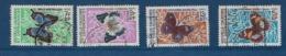 """Nle-Caledonie YT 341 à 344 """" Papillons """" 1967 Oblitéré - Neukaledonien"""