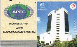INDONESIA - APEC ECONOMIC LEADERS MEETING - Indonesia