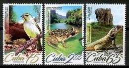 Cuba 2019 / Birds Reptiles Frog MNH Aves Rana Vögel Frosch / Cu15001  C4-9 - Birds