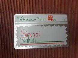 P 48 Sinceri Saluti 011 L ((Mint,Neuve) Very Rare ! - Belgique