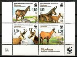 Bosnia I Herzegovina / Fauna Animals Mammals WWF Goats MNH Mamíferos Cabras Säugetiere / Cu14713  41-48 - Sellos