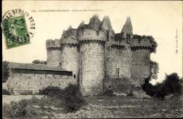 Cp Argenton Chateau Deux Sèvres, Château De L'Ebaupinay - France