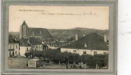 CPA - MONEIN (64) - Aspect De La Bascule Sur La Place Marcadieu En 1900 - Andere Gemeenten