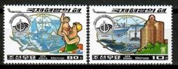 Korea North 1998 Corea / International Year Of The Ocean MNH Año Del Océano / Cu13106  38-52 - Protección Del Medio Ambiente Y Del Clima