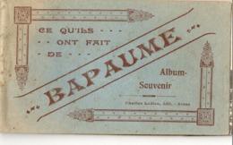 BAPAUME ( 62 ) - Carnet De 12 Cartes ( Complet ) - Bapaume