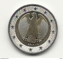 2 Euro, 2017,  Prägestätte (A),  Vz, Sehr Gut Erhaltene Umlaufmünzen - Germania