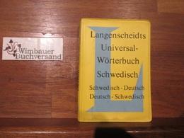 Langenscheidts Universal-Wörterbuch Schwedisch - Scandinavian Languages