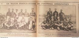 1912 FOOTBALL ASSOCIATION - CLUB ATHLÉTIQUE DE VITRY = SERVETTE FOOTBALL CLUB DE GENÈVE - Books, Magazines, Comics