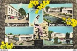 MAROC  PORT LYAUTEY  Souvenir  ..... KENITRA - Marokko