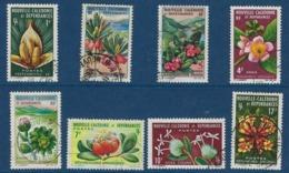 """Nle-Caledonie YT 314 à 321 """" Fleurs """" 1964-65 Oblitéré - Neukaledonien"""