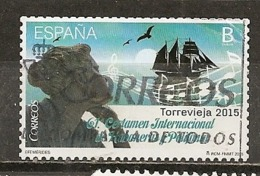 Espagne Spain 2015 Torrevieja Bateau Ship Obl - 2011-... Usados