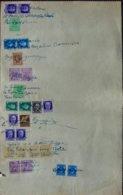 1943-Sicilia Mandato Di Pagamento Del Comune Di Ventimiglia Con Uso Amministrativo Di Ben 27 Tra Marche Da Bollo,francob - Ocu. Anglo-Americana: Sicilia
