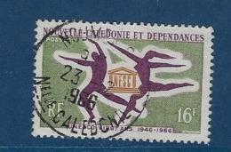 """Nle-Caledonie YT 329 """" UNESCO """" 1966 Oblitéré - Neukaledonien"""