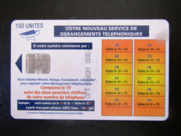 GABON  150 UNITS - Gabon