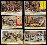 CHROMOS CHROMO LIEBIG - SERIE DE 6 - LES MANUSCRITS DE LA MER MORTE - Liebig