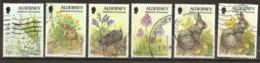 Alderney 1994 Flora And Fauna Obl - Alderney