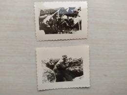 2WK Foto NAzi Panzer Im Lithauen  Soldaten - 1939-45