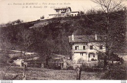 D64  CAMBO-LES-BAINS  Villa Arnaga Et Son Moulin  ..... - Cambo-les-Bains