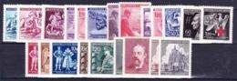Boheme Et Moravie 1943-4 Mi 111-6+126-41 (Yv 99-120), (MNH)** - Unused Stamps
