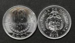 2016 Costa Rica 10 Colones Km228b.2 UNC Coin Currency - Costa Rica