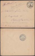 """BELGIQUE COB 124 SUR LETTRE OBL """"POSTE MILITAIRE 2"""" 17/05/1915 VERS ROOSENDAAL (DD) DC-4161 - 1912 Pellens"""