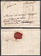 FRANCE LETTRE DATE BUILLAC 27/01/1778 VERS NOE (DEB DE NOE) ET TOULOUSE    (DE) DC-4176 - Marcophilie (Lettres)