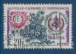 "Nle-Caledonie YT 351 "" O. M. S. "" 1968 Oblitéré - Gebraucht"