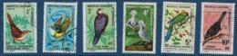 """Nle-Caledonie YT 345 à 350 """" Oiseaux """" 1967-68 Oblitéré - Neukaledonien"""