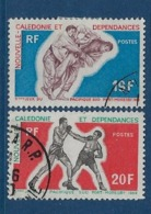 """Nle-Caledonie YT 361 & 362 """" Jeux Sportifs Du Pacifique """" 1969 Oblitéré - Neukaledonien"""