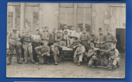 Carte Photo  Groupe De Militaires 120° Régiment - Regimente