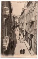 CPA 35 - SAINT-MALO (Ille Et Vilaine) - 1497. La Rue De Dinan - GF - Saint Malo