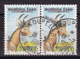 Burkina Faso 1997, Pair, Minr 1449, Vfu. Cv Undetermined - Burkina Faso (1984-...)