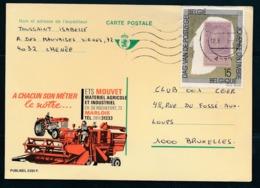 PUBLIBEL Nr 2391F - Ets MOUVET - Materiel Agricole Et Industriel - Entiers Postaux