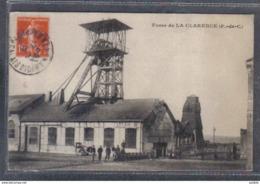 Carte Postale 62. Divion Fosse De La Clarence  Mine  Mineur  Trés Beau Plan - Andere Gemeenten