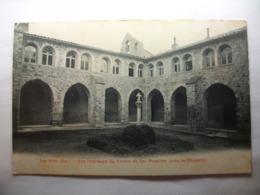 Carte Postale Les Arcs (83)  Vue Intérieure Du Cloitre De Sainte Roseline (Petit Format Noir Et Blanc Oblitérée ) - Les Arcs
