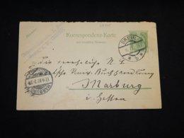 Austria 1907 Grein 5h Green Stationery Card__(L-28795) - Ganzsachen