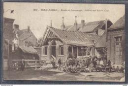 Carte Postale 59. Saint-Le-Noble  école Et Patronage Trés Beau Plan - Autres Communes
