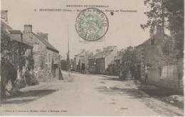 Orne : Env.  De TINCHEBRAY :  MONTSECRET : Vue Du Bourg , - France