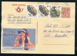 """PUBLIBEL Nr 2736F - Vins De Pays - Cachet """"Marche-en-Famenne"""" - Entiers Postaux"""