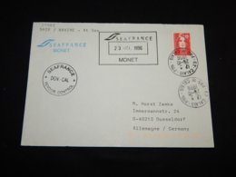 France 1996 Calais Seafrance Monet Cover__(L-30388) - France