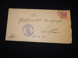 Germany 1890 Kelsterbach Letter__(L-28916) - Germania